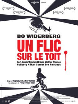 Splitscreen-review affiche de un flic sur le toit de Bo Widerberg