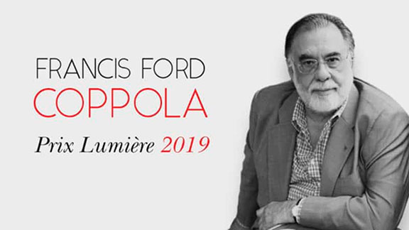 Splitscreen-review Image de Francis Ford Coppola Prix Lumière 2019