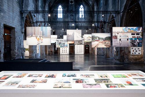 Splitscreen-review Datazone : Vue de l'exposition