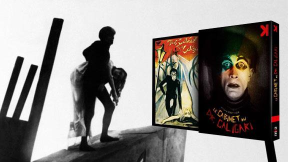 Splitscreen-review Image du Blu-ray de Le cabinet du Docteur Caligari de Robert Wiene édité par Potemkine Films