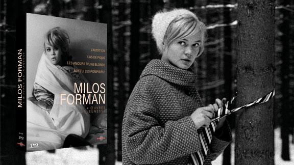 Splitscreen-review Image du coffret Milos Forman édité par Carlotta Films