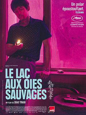 Splitscreen-review Affiche du film de Diao Yinan intitulé Le lac aux oies sauvages