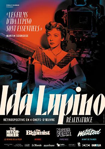 Splitscreen-review Affiche de la rétrospective Ida Lupino