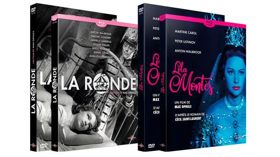 Splitscreen-review Image des éditions de La ronde et de Lola Montès de Max Ophuls chez Carlotta Films