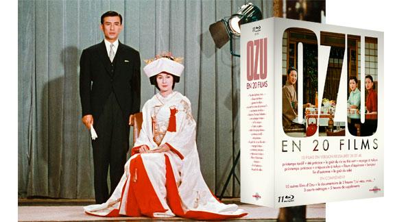 Splitscreen-review Image du coffret Ozu édité par Carlotta Films