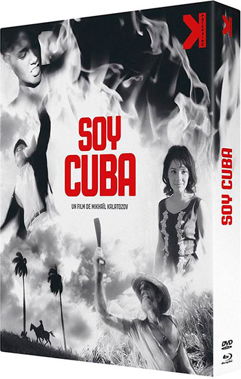 Splitscreen-review Jaquette de l'édition Blu-ray/DVD de Soy Cuba de Mikhail Kalatozov édité par Potemkine Films