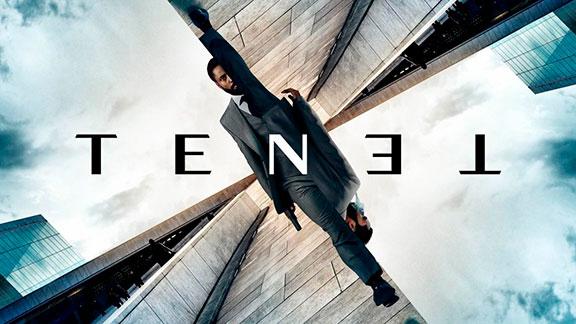 Splitscreen-review Affiche de Tenet de Christopher Nolan