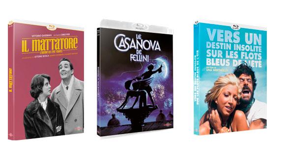 Splitscreen-review Image Cinéma Italien volume 2 édité chez Carlotta Films