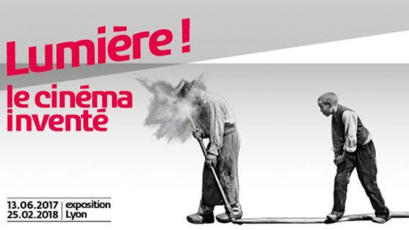 Splitscreen-review Affiche de l'exposition Lumière le cinéma inventé au Musée des Confluences à Lyon