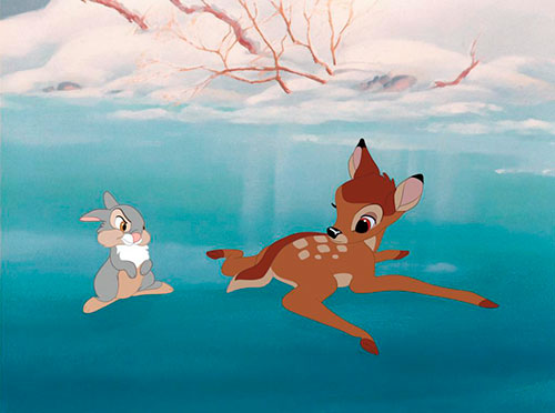 Splitscreen-review Image de Bambi de David Hand