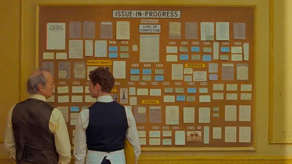 Splitscreen-review Image de The French Dispatch de Wes Anderson