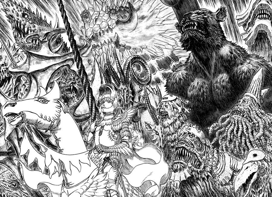 Splitscreen-review Image de Berserk de Kentaro Miura