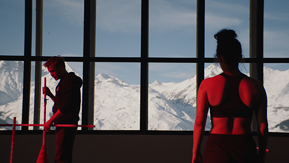 Splitscreen-review Image de Slalom de Charlène Favier